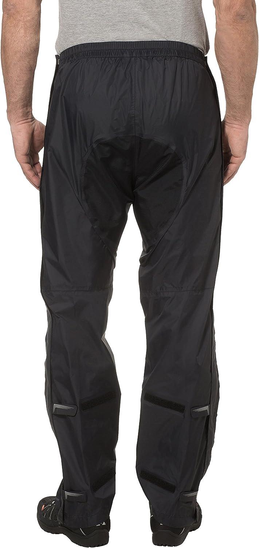 VAUDE Pantaloni Uomo Yaras Rain Zip Pants