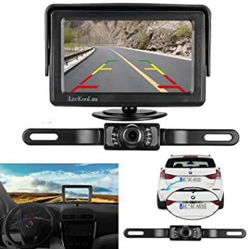 Car Backup Camera >> Amazon Com Leekooluu Backup Camera And Monitor Kit For Car