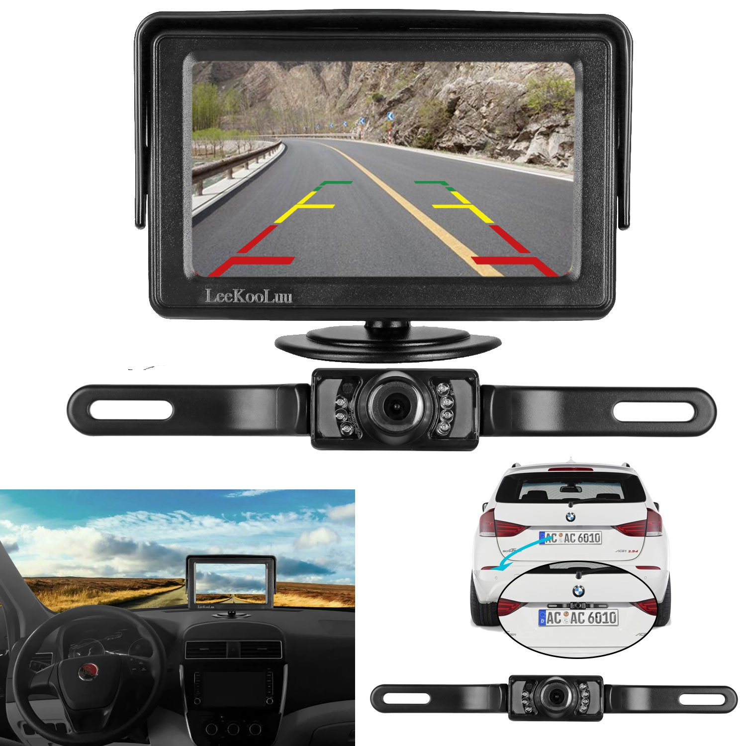 Best Rated In Vehicle Backup Cameras Amp Helpful Customer