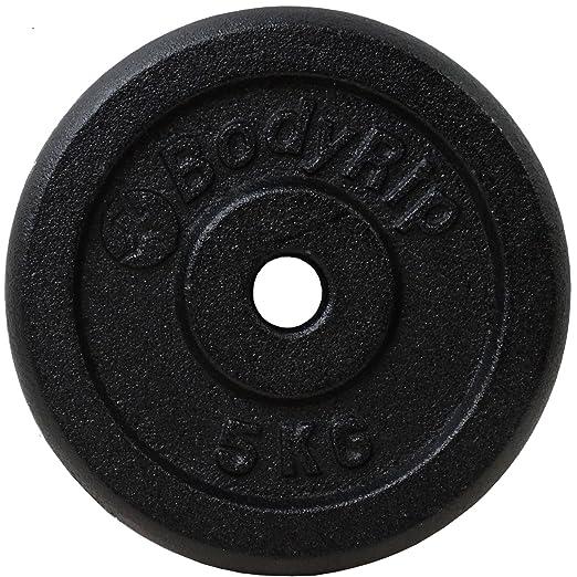 BodyRip - Pesas para 47 kg Hierro fundido 5 ft 1