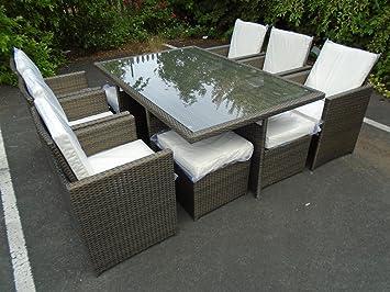 Outdoor Küche Cube : Outdoor garten terrasse 10 rechteckig aus rattan fÜr gartenmÖbel