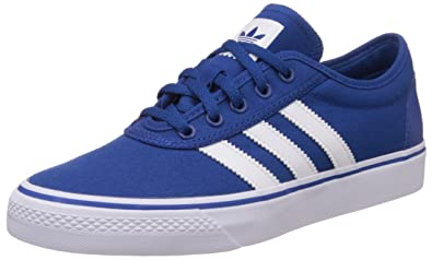 adidas Originals Men's Adi-Ease Blue and White Sneakers - 12 UK