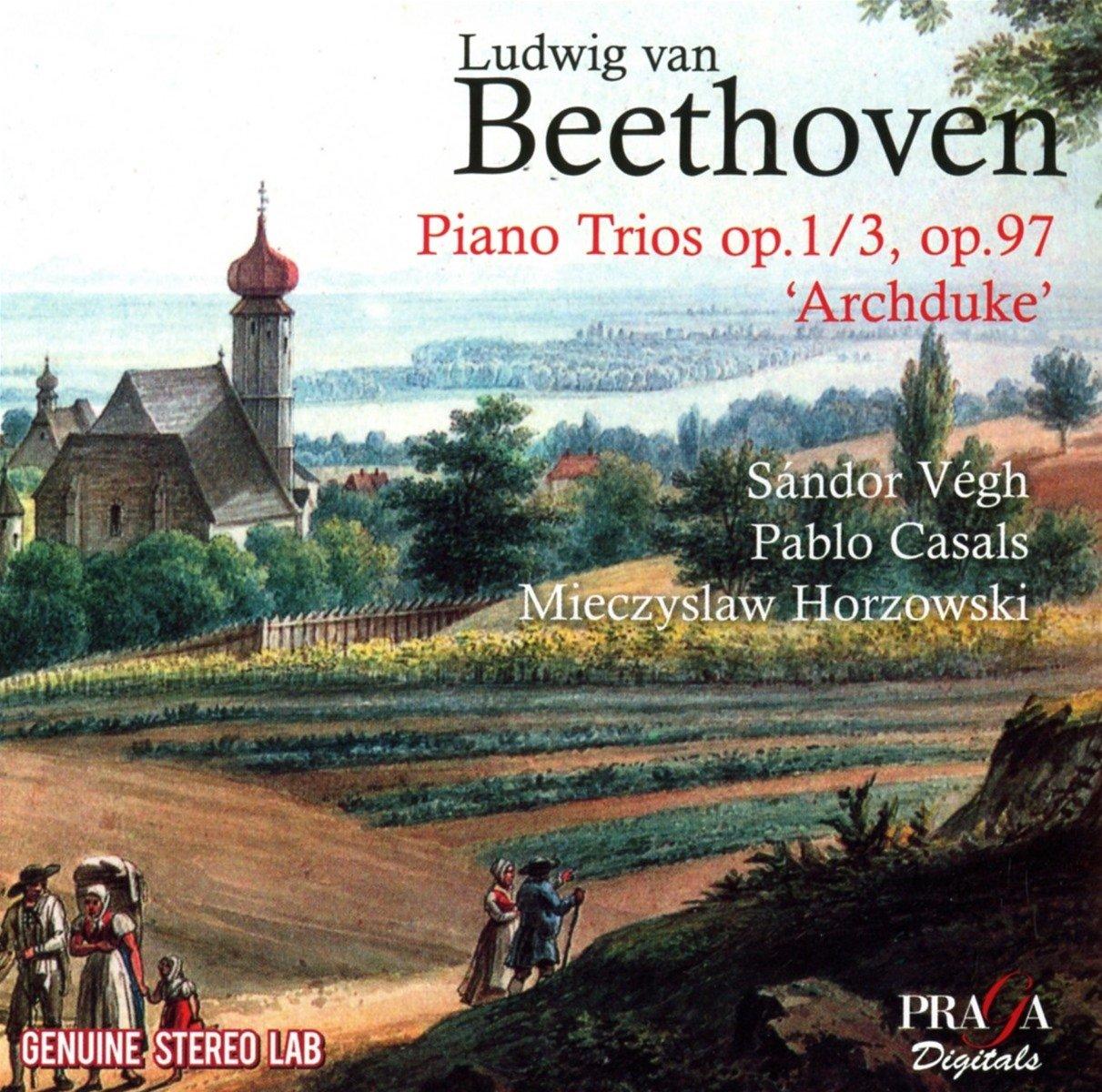 CD : Mieczyslaw Horszowski - Beethoven: Piano Trios Nos.3 & 7 (CD)