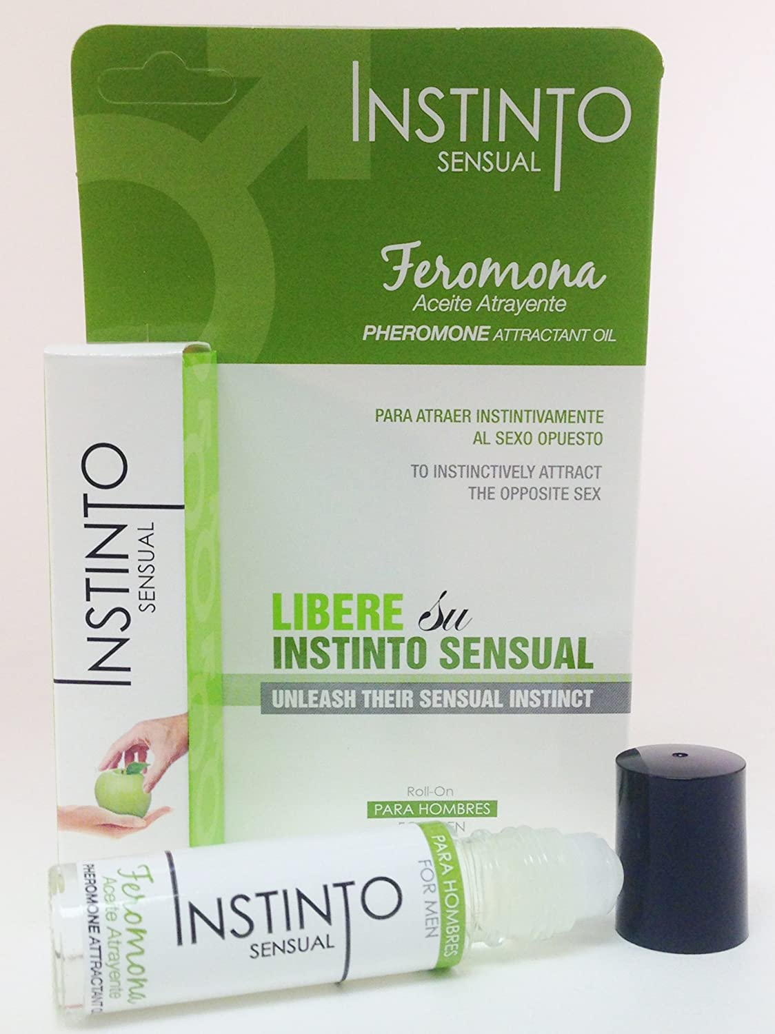 Amazon.com : Instinto Sensual Pheromones for Men-Feromonas Para Hombres : Personal Fragrances : Beauty