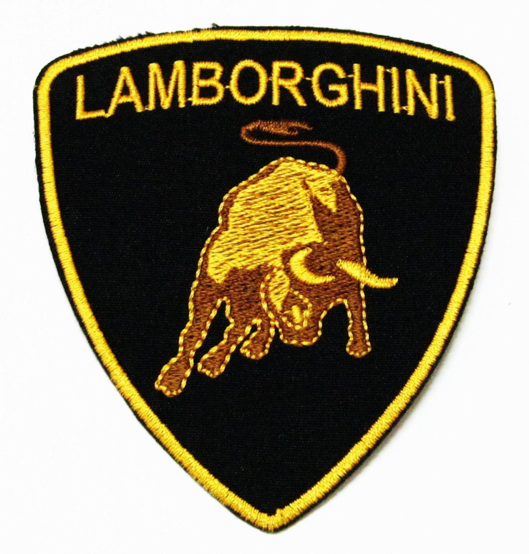 Amazon Lamborghini Brand Of Super Car Logo For Cloth Jacket Hat