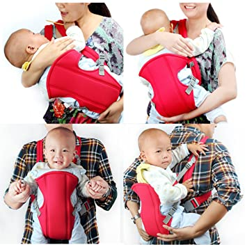 Amazon Com Newborn Kid Infant Baby Carrier Backpack Front Back
