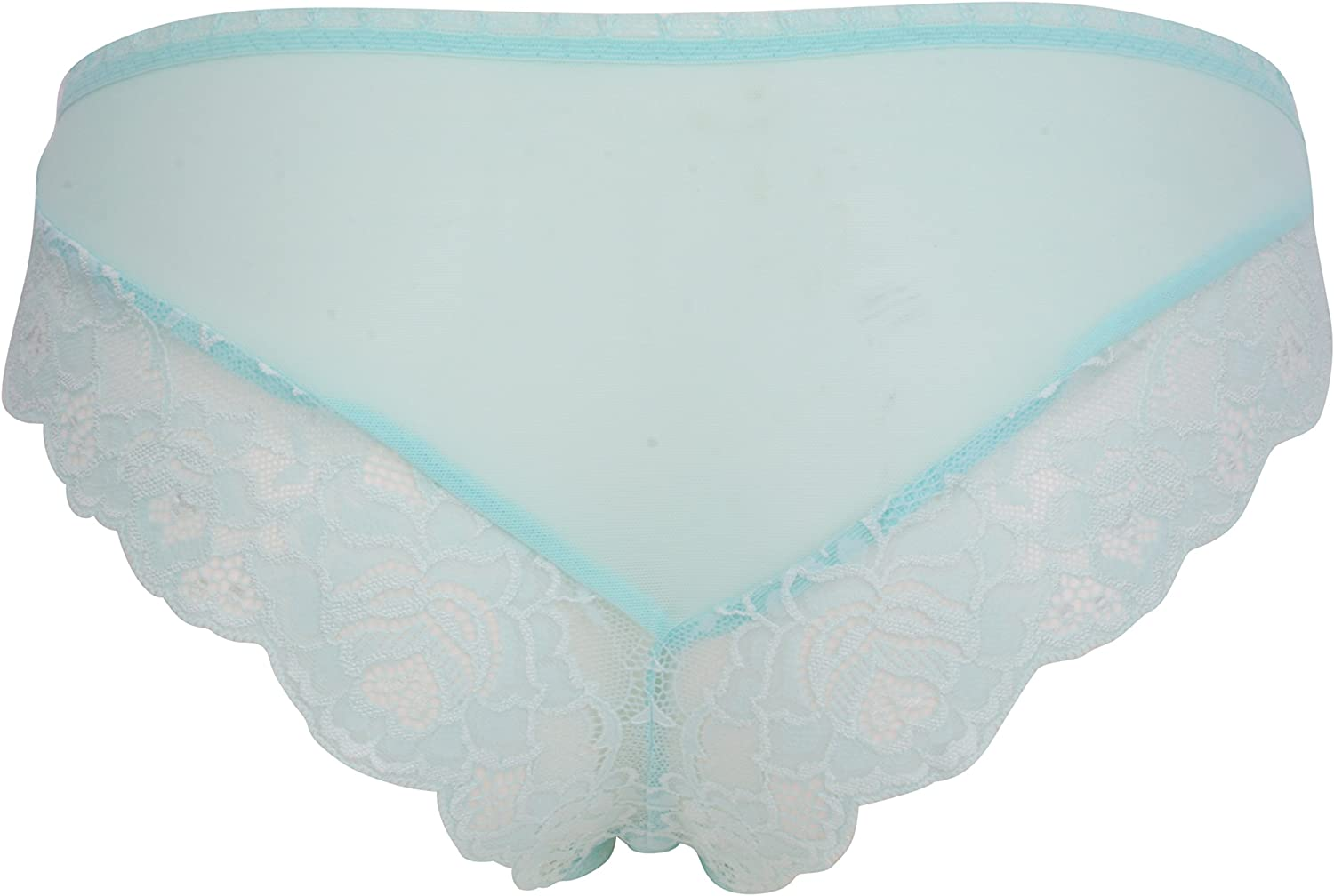 Ex-Store Maternity Lace Trimmed Brazilian Knickers Mint