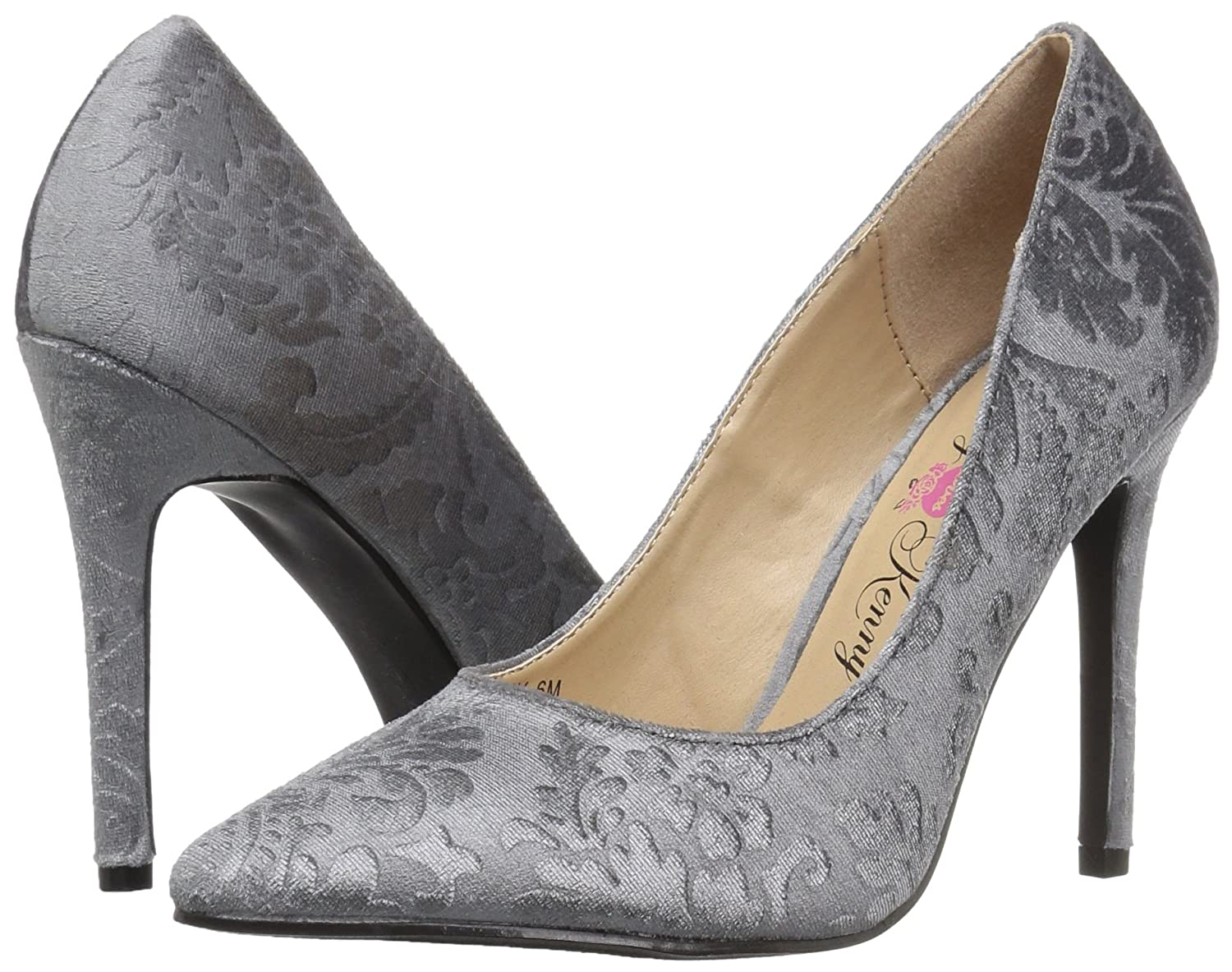 Penny Loves Kenny Women's Opus BV Pump B0727P85JC 8 B(M) US|Grey Velvet