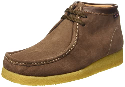 Sebago Koala Hi Scarpe Brogue Stringate, Unisex Adulto, Marrone (Suede Brown), 36