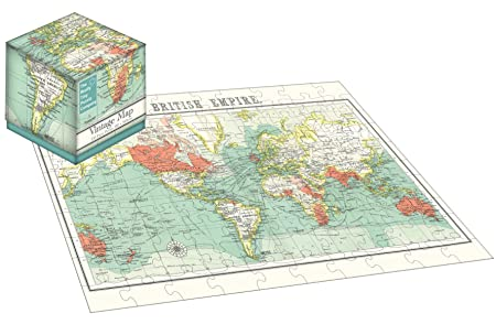Robert frederick 100 piece cube jigsaw puzzle vintage map robert frederick 100 piece cube jigsaw puzzle vintage map assorted gumiabroncs Images
