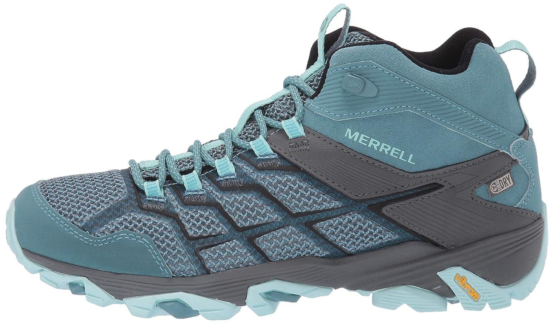 Merrell Mens Moab FST 2 Mid Waterproof Hiking Shoe