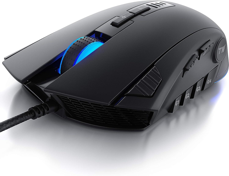 Titanwolf Gaming Maus Mouse Mit 24 000 Dpi Computer Zubehör