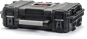 Keter Master 17200380 Pro Gear Organizer 22 - Maletín de herramientas, 1 unidad, color negro, gris y plateado: Amazon.es: Bricolaje y herramientas