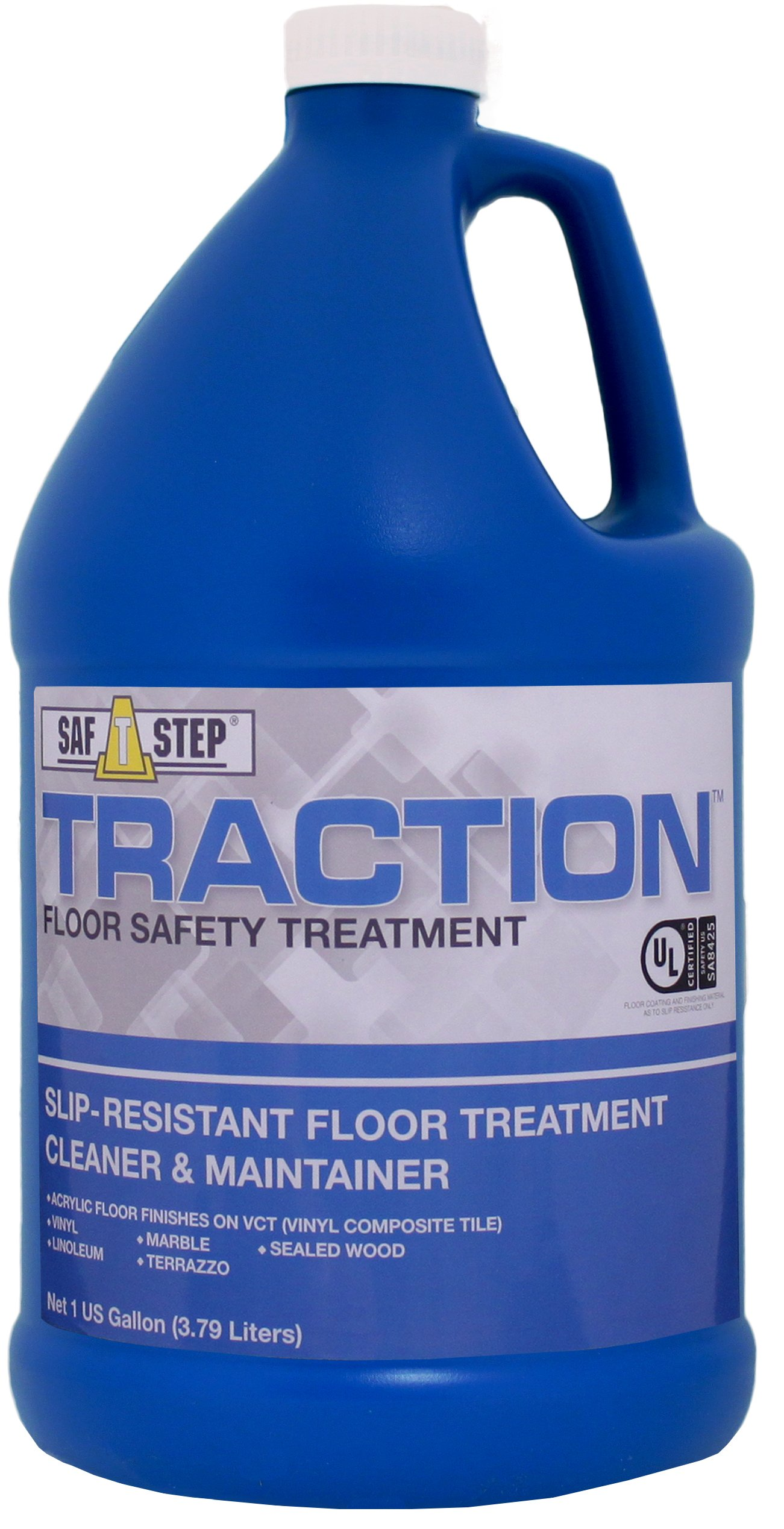 Dynamic Research Company TR128 Traction Slip Resistant Floor Treatment Cleaner and Maintainer