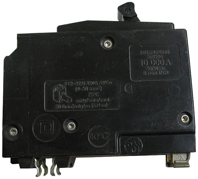 Square D Type QO 2-Pole Molded Case Circuit Breaker 100A QO2100