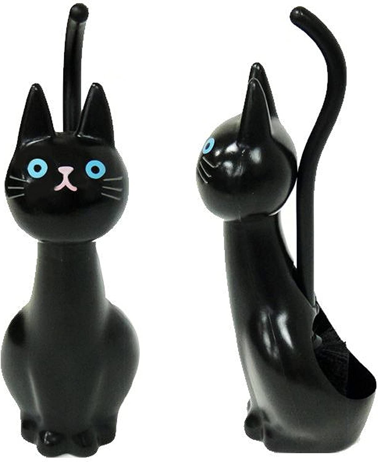 MEIHO Cat Toilet Brush Black ME02 From Japan