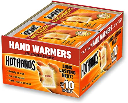 HotHands Toe Warmers Up to 8 Hours of Heat Long Lasting Safe Natural Odorless Air Activated Warmers 30 Pair
