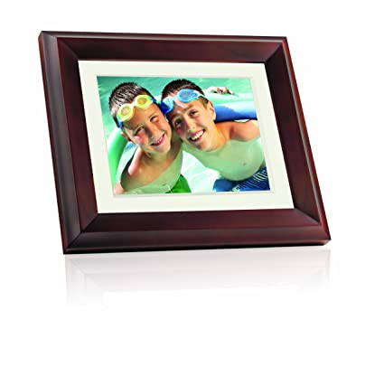 Amazon.com : Giinii GH-ADNM 10.4-Inch Digital Picture Frame (Brown ...