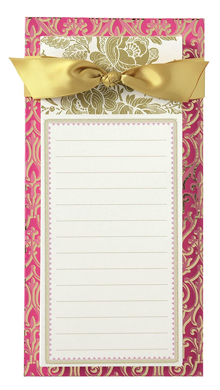 Anna Griffin ピンクコレクション リストパッド ピンクリボンと金箔付き   B00TY7GQN0
