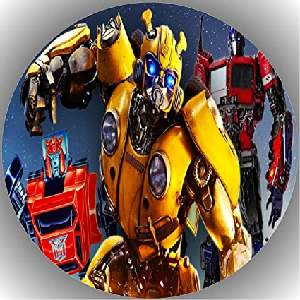 1 Fondant Tortenaufleger Geburtstag  Transformers  T1