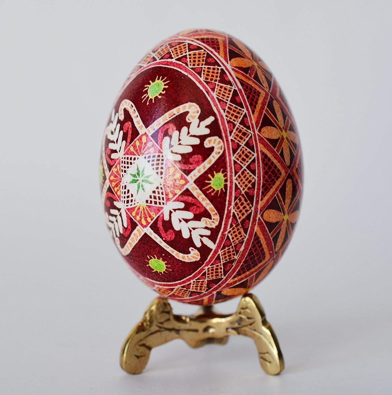 Ukrainian Egg Stand Pysanka Stand Pysanky Stand Egg Stand Gold