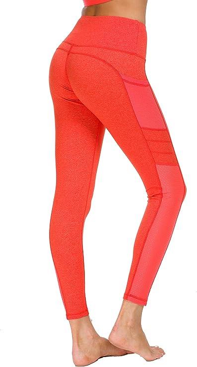 New Mincc Leggings Donna Pantaloni da Corsa Fitness Sportivi Yoga Allenamento Dimagranti Tasca Tasche