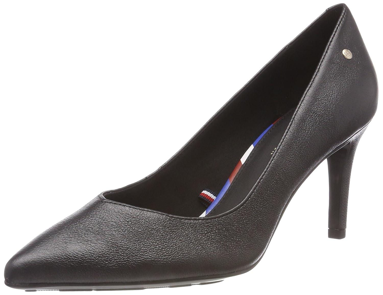 Tommy Hilfiger Metallic Leather Pump, Zapatos de Tacón para Mujer