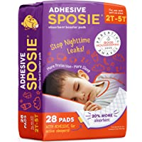 Sposie, Stops Nighttime Diaper leaks, Extra Overnight Protection for Heavy Wetters and Potty Training, Fits Diaper Sizes…