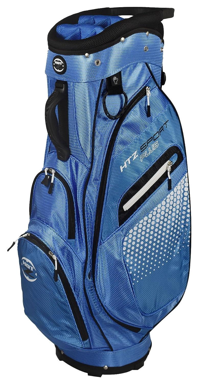 hot-zゴルフHTZスポーツプラスカートバッグ B0741WSMRG ブルー/ブラック
