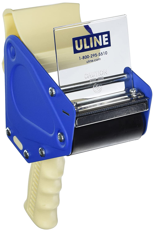 NEW Uline H-596 Packing Tape Dispenser Gun 3-Inch Side Load
