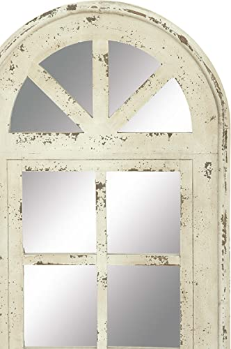 Deco 79 Wood Mirror Wall Panel, 20 by 53
