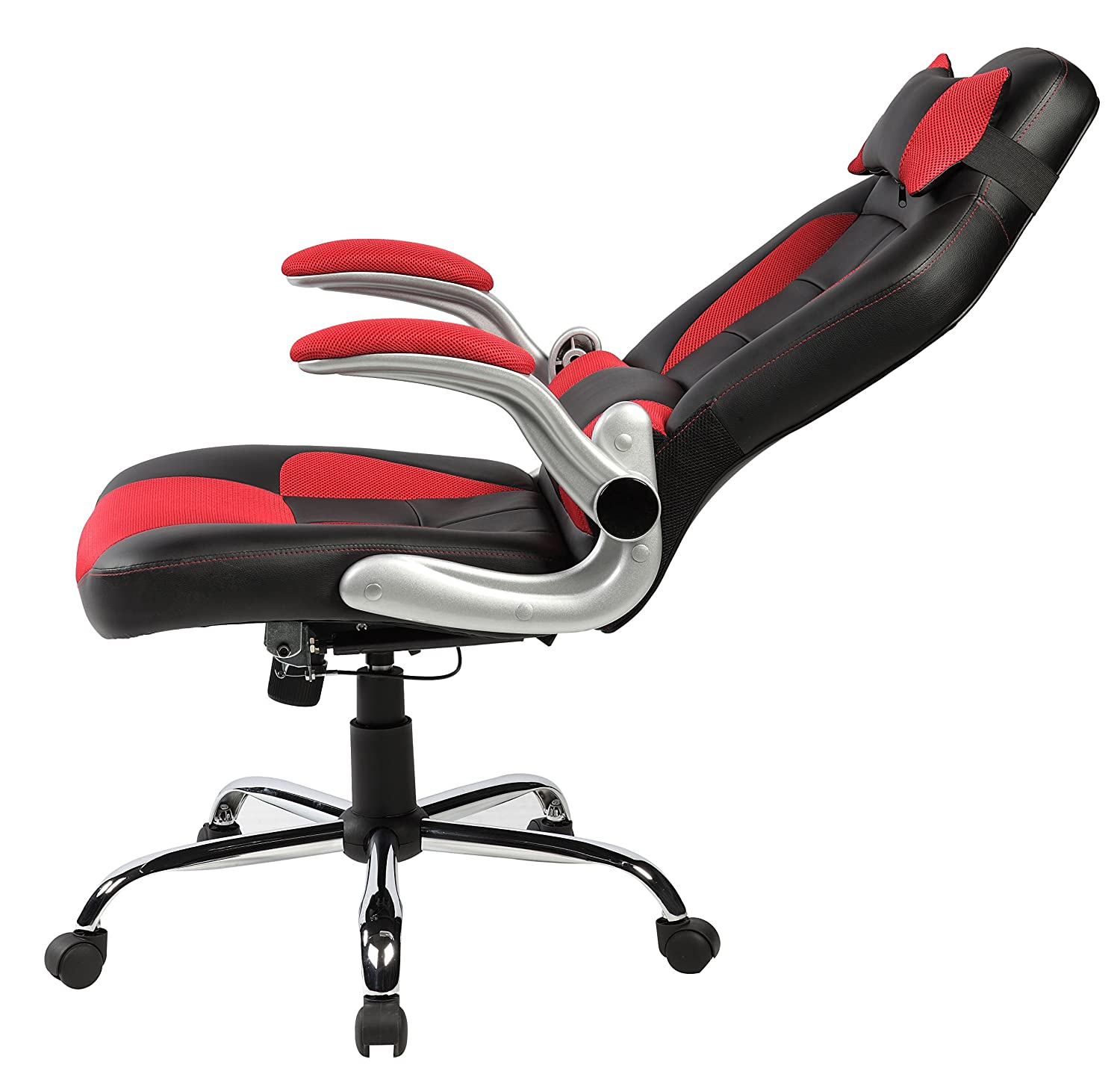Amazon.com Merax High-back Ergonomic Pu Leather Racing Chair Executive Office Chair Swivel Chair Reclining Chair Home u0026 Kitchen  sc 1 st  Amazon.com & Amazon.com: Merax High-back Ergonomic Pu Leather Racing Chair ... islam-shia.org
