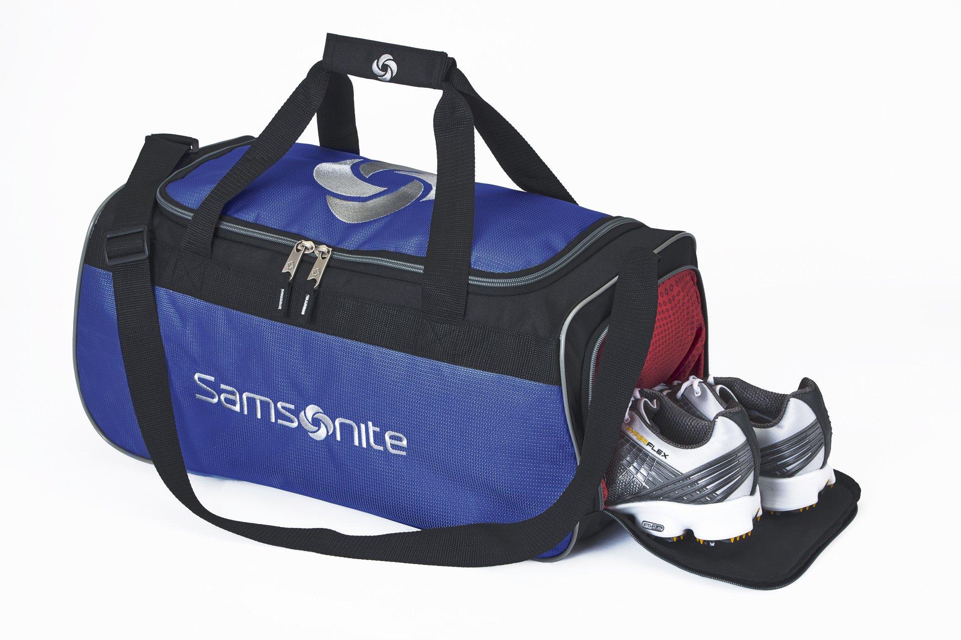 Samsonite To The Club Duffle Bag, Black/Blue by Samsonite