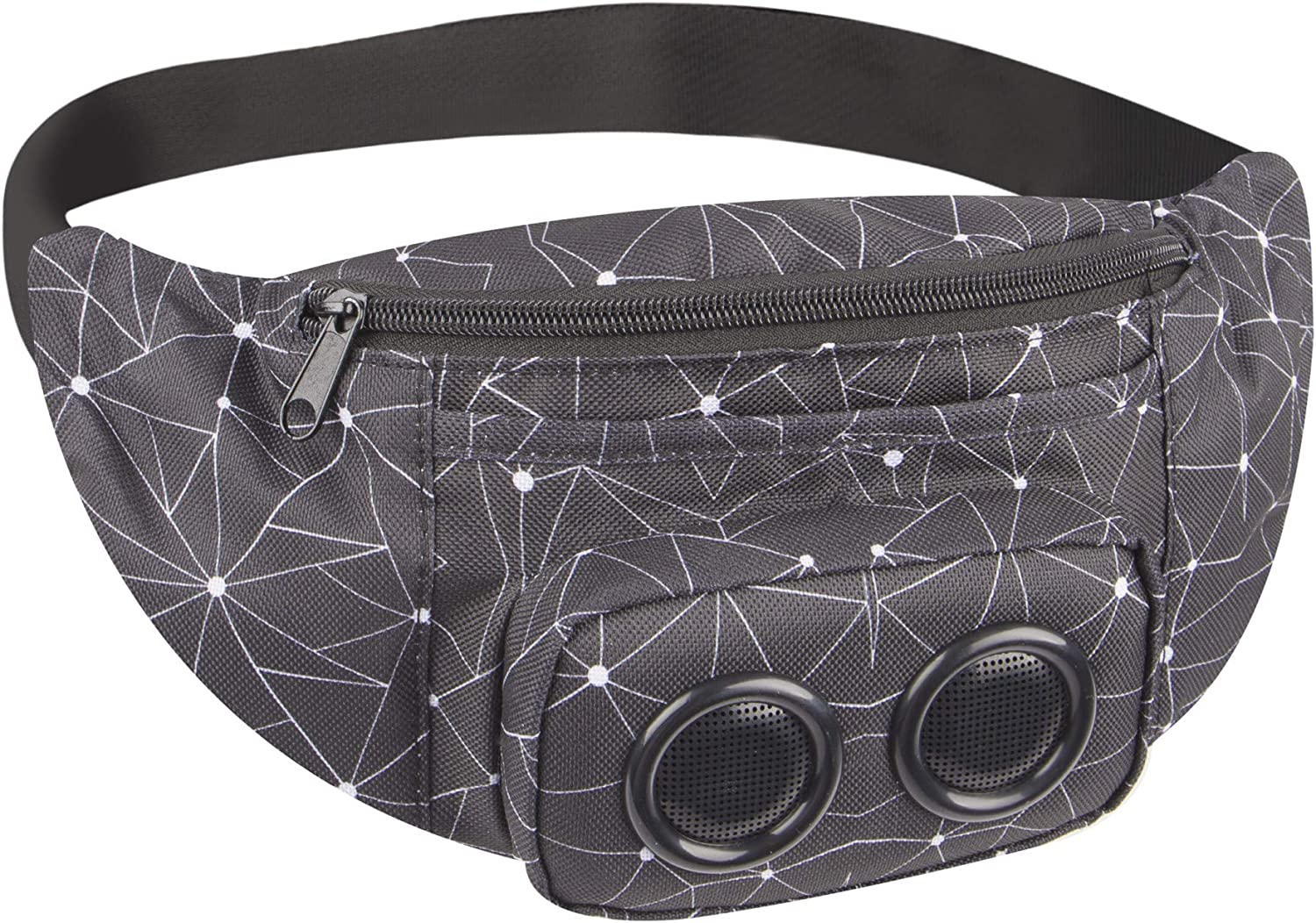 Vivitar Jam Bag Wireless Speaker Fanny Pack Bluetooth Speakers Rechargeable Battery Water-Resistant Outdoor Speakers Fun and Stylish Fanny Packs for Men /& Women
