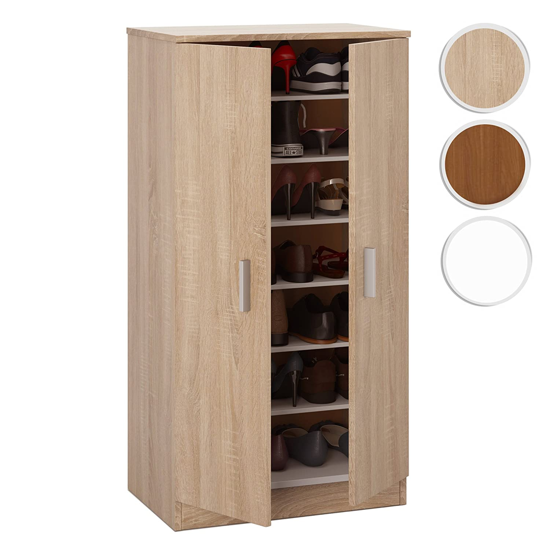 Zapatero en armario empotrado estantes with zapatero para - Ikea armario zapatero ...