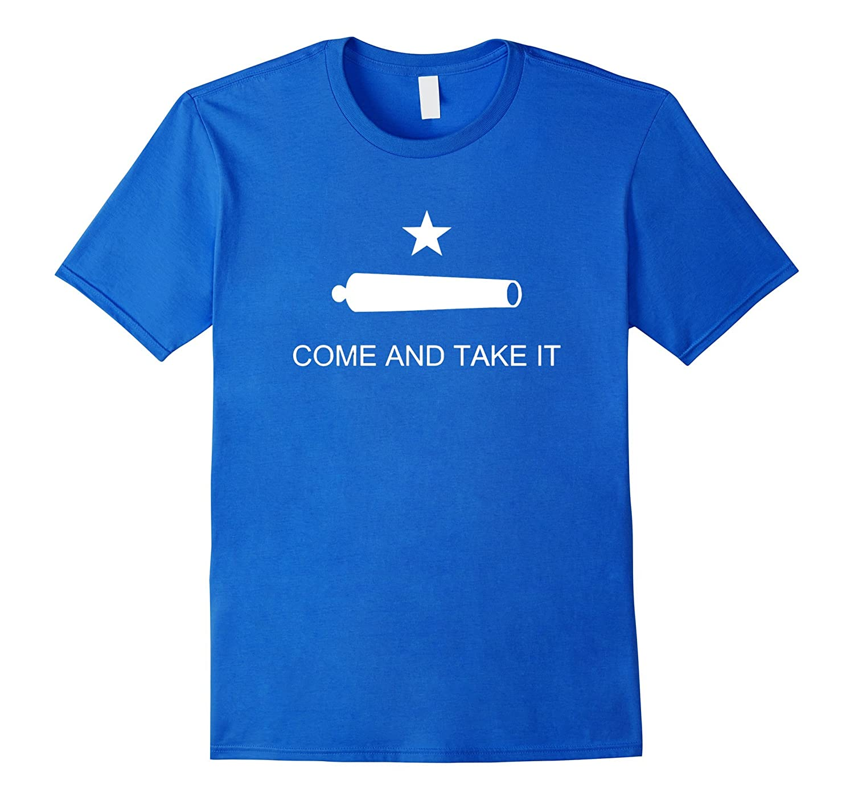 Come and Take It Flag Texas Molon Labe USA T-Shirt-FL