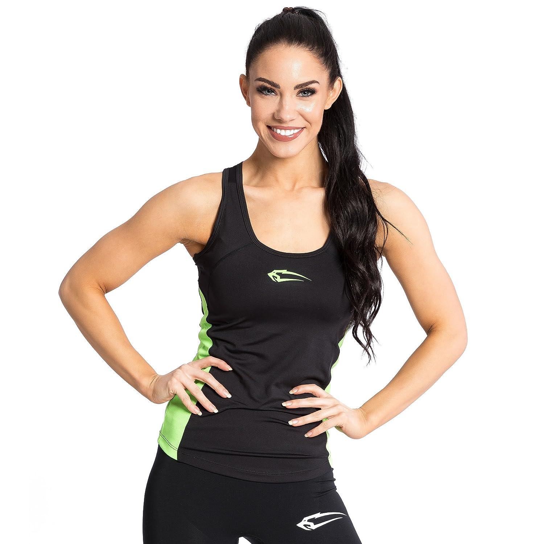 SMILODOX Sport Tank Top Dames | Chemise d'entraînement idéale pour Le Gym Fitness et l'entraînement | Sports sans Manches T-Shirt - Coupe Confortable - Sporttop - Maillot de Corps - Débardeur