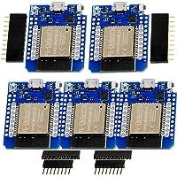 AZDelivery 3 x ESP32 D1 Moduł Mini NodeMCU WiFi + płytka rozwojowa Bluetooth Internet kompatybilny z Arduino w tym e…