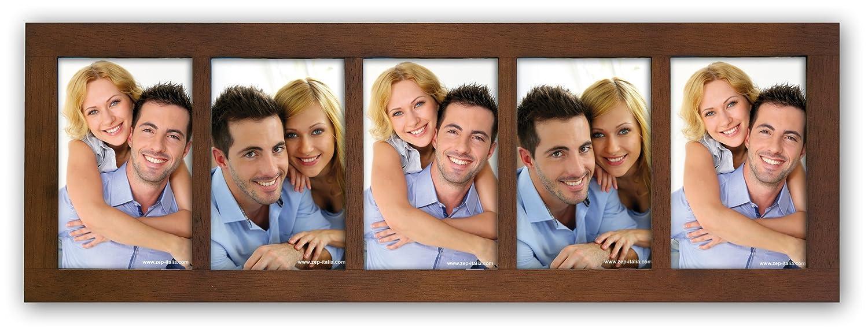 Amazon.de: Zep S.r.l SA546 Mehrfach-Bilderrahmen Amalfi für 5 Bilder ...