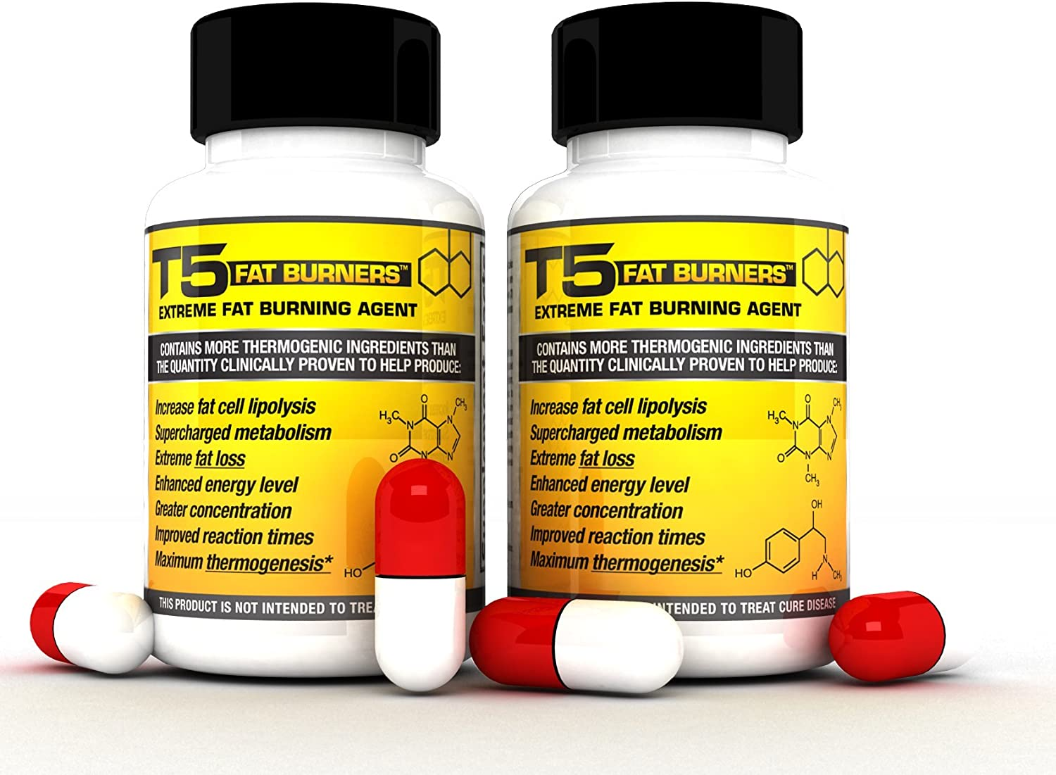 Biogen Health Science x2 Original T5 Fat Burners Super Strength Slimming Weight Loss Diet Pills 2 Month Supply