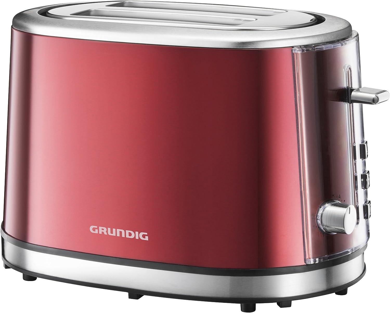 Grundig TA 6330 - Tostador (850W, 60/60 Hz, 220-240V) Rojo: Amazon ...
