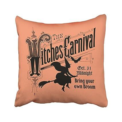 accrocn brujas Carnival para Halloween exterior fundas de ...