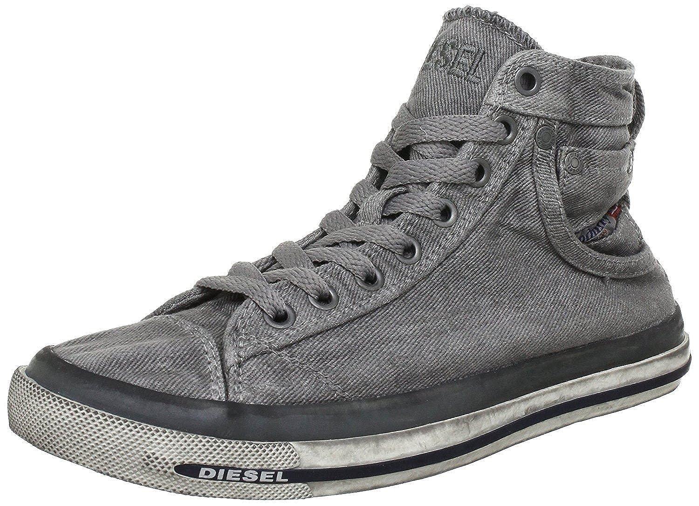 #Diesel Exposure I Gunmetal Mens Hi Trainers Boots