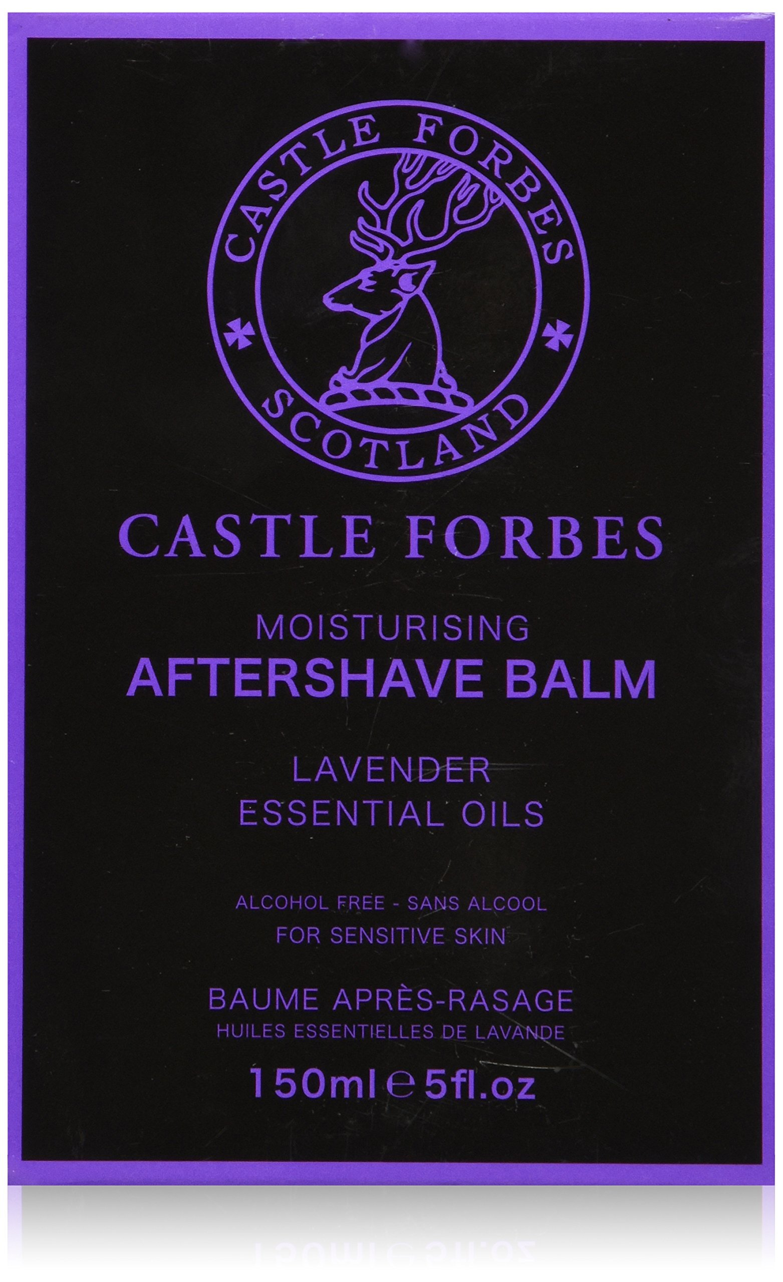 Castle Forbes Lavender Oil Aftershave Balm 5oz
