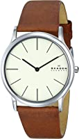 Skagen Men's SKW6083 Theodor Saddle Leather Watch
