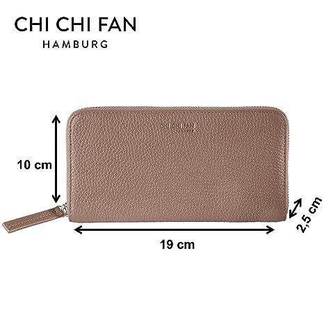 CHI CHI FAN - Cartera para mujer , gris (Rojo) - 10302280: Amazon.es: Equipaje