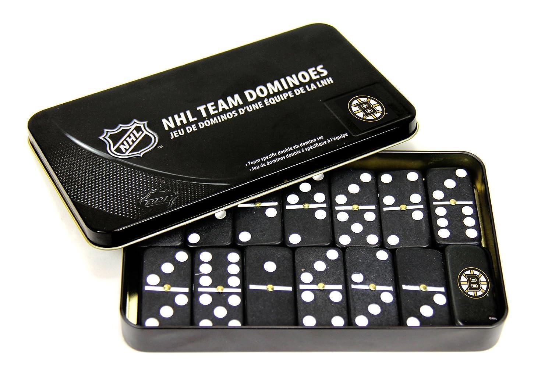 NHL Boston Bruins Domino Set in Metal Gift Tin