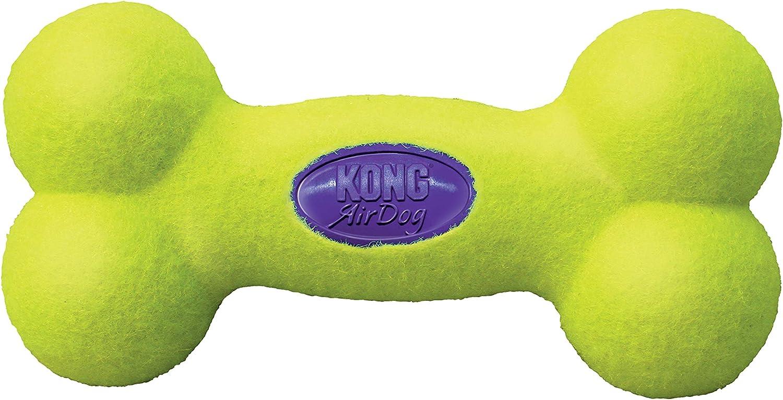 KONG - AirDog Squeaker Bone - Juguete sonoro y saltarín, tejido ...