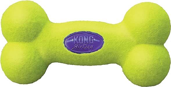 KONG - AirDog® Squeaker Bone - Juguete sonoro y saltarín, tejido ...