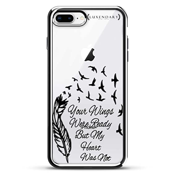 Amazoncom Luxendary Lux I7plcrm Qwings1 Feather Quoteyour Wings